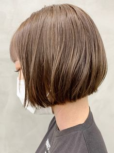 Short Bob Hairstyles, Hairstyles Haircuts, Elegant Short Hair, Cute Haircuts, Bob Cut, Hair Inspiration, Short Hair Styles, Hair Makeup, Hair Cuts