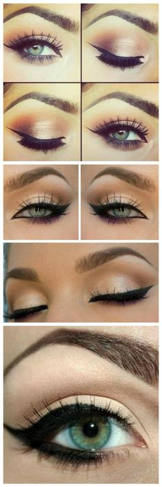 3 Eyeliner Tips For Almond Shaped Eyes https://www.facebook.com/MakeupHairClasses/posts/978578378825171