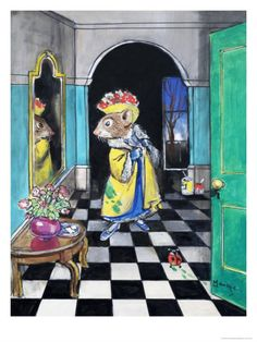 The Town Mouse and the Country Mouse Giclee Print by Philip Mendoza at Art.co.uk