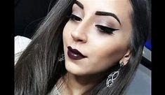 dark purple lipstick - Bing images