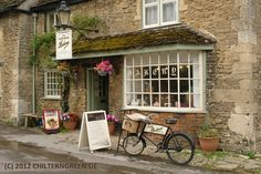 The Lacock Bakery shop front