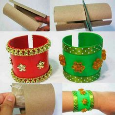 Mooi armbanden zelf maken - leuk voor een kinderfeestje met Ridder & Prinsessenthema