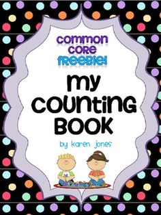 Free Counting book... practice writing and drawing numbers 0-20!