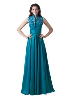 Topwedding Embroidery High Neck Taffeta A Line Mother Dresses, Royal Blue, 6 Topwedding,http://www.amazon.com/dp/B00EAHIZVK/ref=cm_sw_r_pi_dp_O5bwsb0Q4VBNNV5H