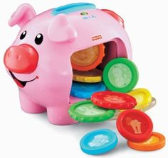 Fisher-Price Laugh and Learn Learning Piggy Bank for Sully