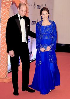 The Duke and Duchess of Cambridge arrive for a Bollywood Inspired Charity Gala at the Taj Mahal Palace Hotel during the royal visit to India and Bhutan on April 10, 2016 in Mumbai, India.