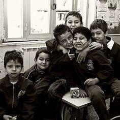 School children in Calabria