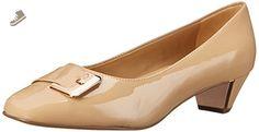 Trotters Women's Fancy Nude Soft Patent Leather 10 W (D) - Trotters pumps for women (*Amazon Partner-Link)