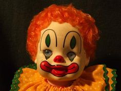 clown doll  makeup for my baby