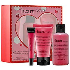 The perfect Valentine's #gift – for yourself or a gal pal! My BFF was delighted when I gave her this sweet treat. #Sephora #Philosophy