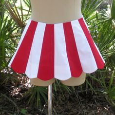Popcorn Costume, Movie Theater Popcorn, Sister Costumes, Red And White Stripes, White Fabrics, Blue Tops, One Pic, Cheer Skirts, Plus Size