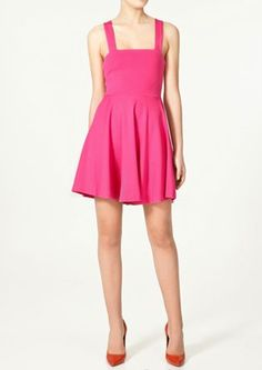 Zara strappy dress, £25.99