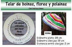 Telar Para Boinas, Polainas Y Flores Marca Dib -
