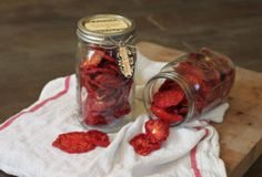 How To Make Your Own Dehydrated Tomatoes