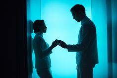 Nicholas Hoult and Kristen Stewart in Equals (2015) - Click to expand