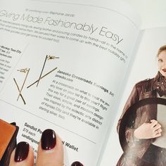 Janesko Crossroads earrings in @spaceskc magazine.   #janesko #jewelry #earring #modern #madeintheusa