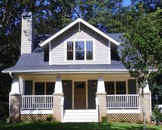 Classic Craftsman Cottage With Flex Room - 50102PH | Bungalow, Country, Craftsman, Northwest, Photo Gallery, 2nd Floor Master Suite, CAD Available, Den-Office-Library-Study, PDF, Narrow Lot | Architectural Designs