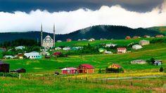 Trabzon - Düzköy Haçkalı Hoca Baba Yaylası.  Fotoğraf: Mustafa Aydın