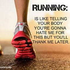 I was just thinking this as I finished up my run this morning. Funny how I feel like I'll collapse when I'm running but never felt more alive afterwards.