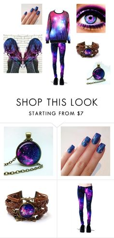 """GALAXY!!!"" by moongal200492 on Polyvore"