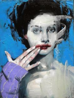 Smudged Lipstick, 2016 by Malcolm Liepke | Yellowtrace
