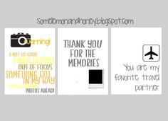 # free filler cards for project life. great for when you have not so perfect photos in your spreads.