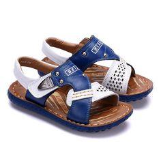 28.64$  Watch now - https://alitems.com/g/1e8d114494b01f4c715516525dc3e8/?i=5&ulp=https%3A%2F%2Fwww.aliexpress.com%2Fitem%2FBoys-Leather-Sandals-Kids-Beach-Shoes-Summer-Boys-Sandals-Flat-Genuine-Leather-Sandals-For-Boy-Kids%2F32677454820.html - Boys Leather Sandals Kids Beach Shoes Summer Boys Sandals Flat Genuine Leather Sandals For Boy Kids Anti-slip Kids Beach Shoes 28.64$