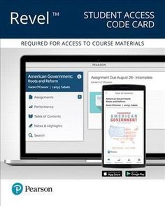 American Government Revel Access Code Card: Roots and Reform - 2016 Presidential Election Edition