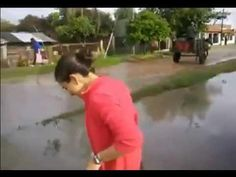 Crossing The Flooded Road #FAIL - #funny