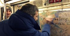 When passengers on a Manhattan train spotted hateful messages scrawled on a subway map, they joined together to get rid of them. https://www.nytimes.com/2017/02/05/nyregion/swastika-nyc-subways.html?smprod=nytcore-iphone&smid=nytcore-iphone-share