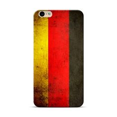 iPhone 6S, 6 Plus German Grunge National Flag Case