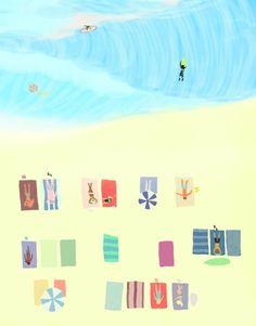summer dream- I feel like we don't belong here Art Print