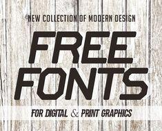18 New Free Fonts for Graphic Design #bestfonts #freefonts #topfonts #freebies #scriptfonts #handwrittenfonts