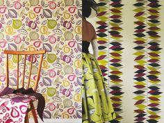 Arianna Interiors: Fabulous 1950's Wallpapers