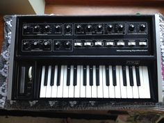 Synthesizer website dedicated to everything synth, eurorack, modular, electronic music, and more. Moog Synthesizer, Drum Pedal, Drum Machine, Music Production, Electronic Music, Drums, Keyboard, Tech, Vintage