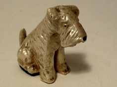 Small Scotty dog PAPERWEIGHT or salesman doorstop sampler vintage circa 1940's FREE SHIP by Barndoorfinds on Etsy