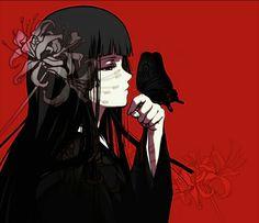 Stream Jigoku shōjo Remix/ Hell Girl/ Instrumental Trap Beat by Gandalf Beatz from desktop or your mobile device Gothic Anime, Gothic Art, Black Cat Aesthetic, Aesthetic Anime, Dark Anime, Itachi Uchiha, Naruto, Enma Ai, Red Spider Lily