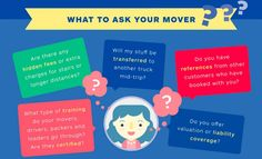Asking about the following items will also help you assess whether your #mover is dependable and to ensure you don't hire a rogue moving.