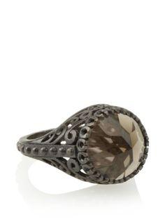 Made Her Think Smoky Quartz Viking Ring Smoky Quartz Ring, Ring Toss, Unusual Rings, Sterling Sliver, Gemstone Colors, Glitters, Diamond Jewelry, Viking Rings, Jewelry Box