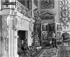 1906 The tapestry screen in the Whistlejacket room at Wentworth Woodhouse. Pub Orig CL 31/03/1906