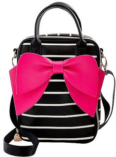 1109b6033e Betsey Johnson BOWTASTIC LUNCH TOTE Betsey Johnson Lunch Bag