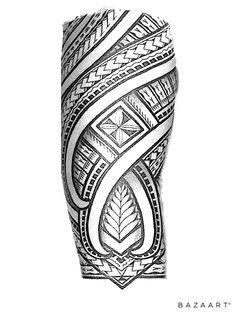 Koru Tattoo, Maori Tattoo Arm, Maori Tattoo Designs, Samoan Tattoo, Polynesian Tattoo Sleeve, Polynesian Tribal Tattoos, Tribal Sleeve Tattoos, Tattoo Bracelet, Band Tattoo
