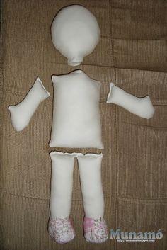 Resultado de imagen para como hacer muñecas de trapo paso a paso