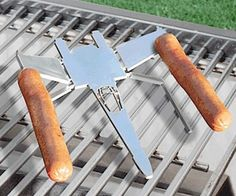 X-Wing Hot Dog Cooker  Roast your weenies in under 12 parsecs when you place the X-Wing hot dog cooker on the job. This stainless steel X-Wing fighter features 4 custom made skewers at the end of each wing tip so you can flame broil up to 4 franks at a time.  $19.99  Check It Out  Awesome Sht You Can Buy
