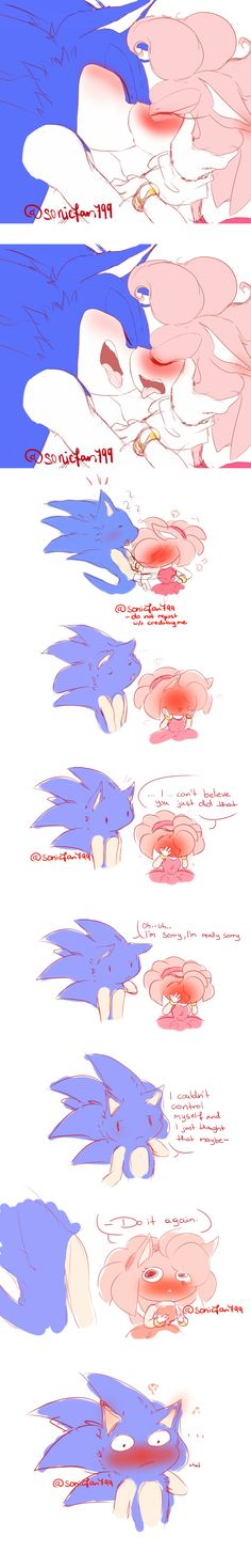 sonamy comic by me (sonicfan799)  DO NOT REPOST/USE IN ANY WAY IF YOU DON'T CREDIT ME.