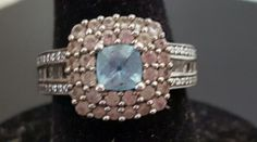 Preowned Sterling Silver Blue Topaz Ring From Kay Size 7 | Jewelry & Watches, Fine Jewelry, Fine Rings | eBay!