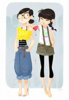 chhuy-ing ia [ portfolio ]: Street fashion