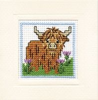 Moo ! Have a great day stitchers.... #crossstitch #needle #thread #relax #craft #home #cow
