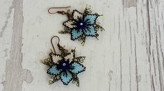 Hey, I found this really awesome Etsy listing at https://www.etsy.com/listing/561387760/blue-bohemian-earrings-handmade-earrings
