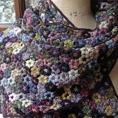 hand crocheted SOPHIE DIGARD SCARF